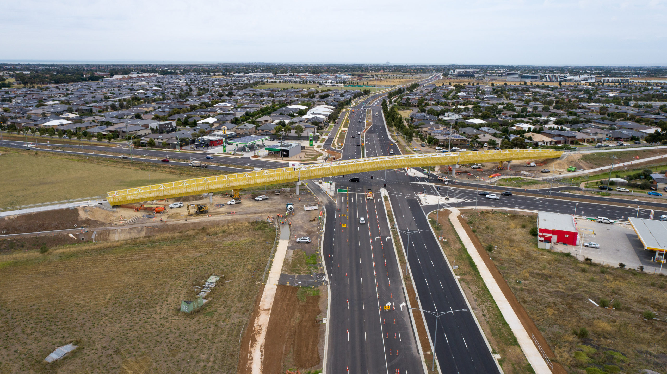Construction complete on first-of-its-kind Western Roads Upgrade